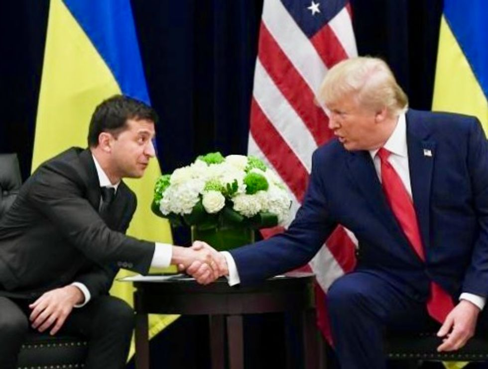 National security officials knew Trump was going to extort Ukraine president before call – and they rang the alarm