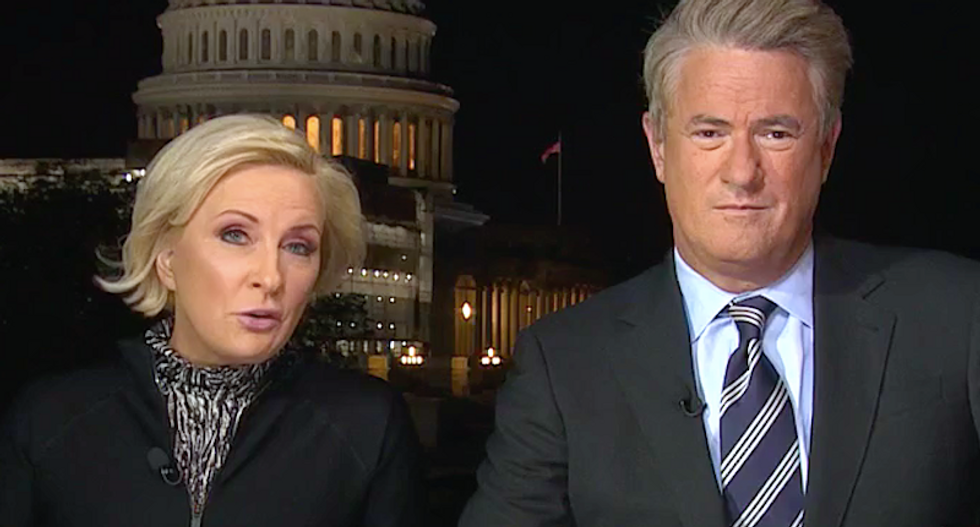 'Political earthquake': MSNBC's Morning Joe and Mika astonished by quickly growing support for impeachment