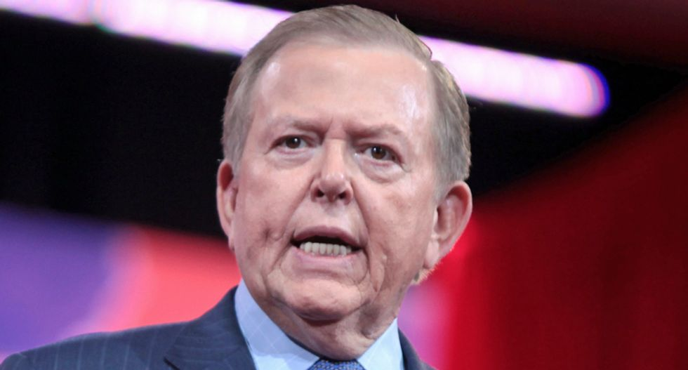 Lou Dobbs blasted as 'an unapologetic racist birther' after his 'crazy' praise of Donald Trump