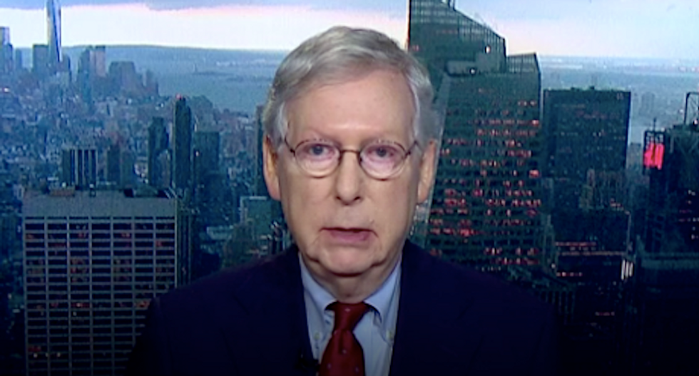 Mitch McConnell insists he won't bend Senate rules to stop vote on Trump impeachment