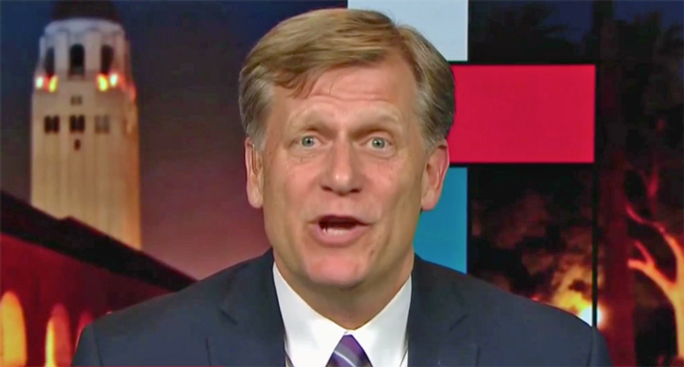 Ambassador McFaul: It is 'absolutely impossible to believe' Mike Pence's denials in Trump's Ukraine plot