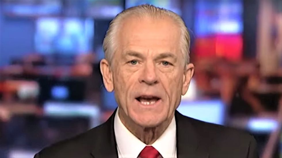 BUSTED: Trump adviser Peter Navarro publicly contradicted his own dire coronavirus warnings to the White House