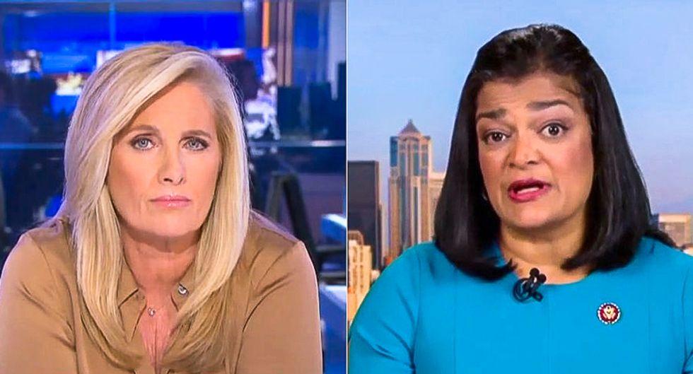 Rep. Pramila Jayapal corrects MSNBC host: 'Donald Trump is the smoking gun'