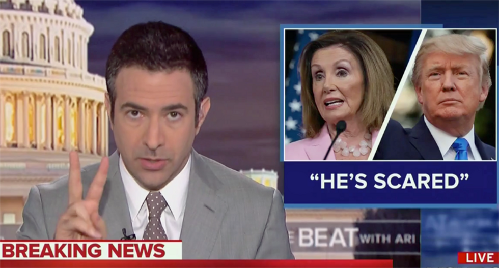 Trump busted by MSNBC chief legal analyst for 'two separate potential crimes' — committed just on Wednesday