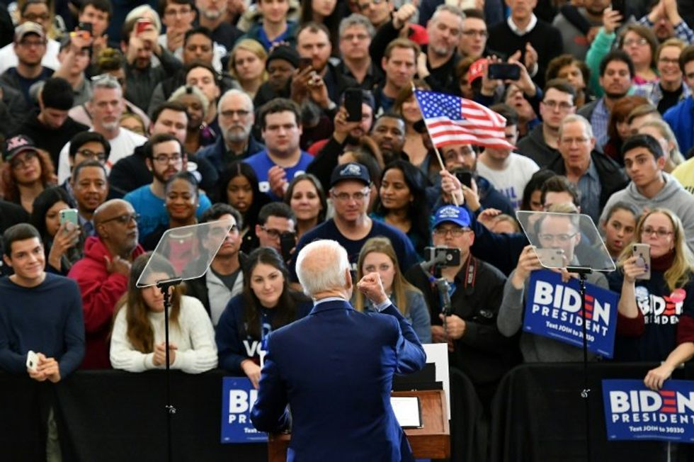 Biden clean sweep in 3 states puts him on track for Dem nomination