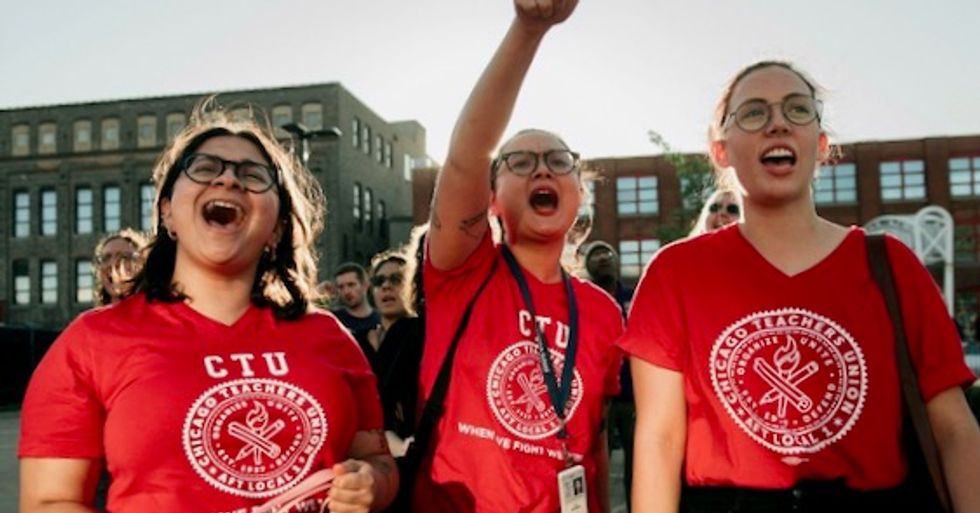'If we don't fight... who will?': In name of students, Chicago teachers union sets Oct. 17 strike date