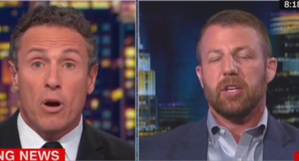 CNN's Chris Cuomo demolishes GOP congressman for trying to pivot from Trump's Ukraine scandal to Joe Biden