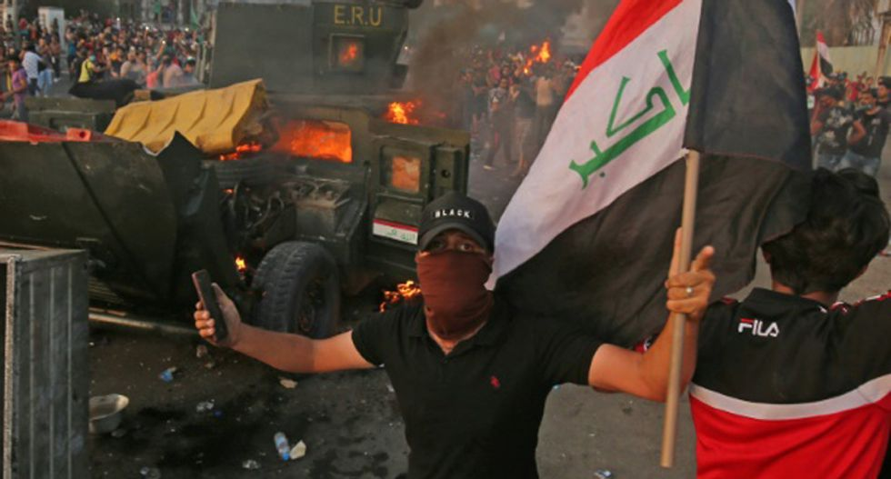 At least 31 dead after bloody protests erupt across Iraq