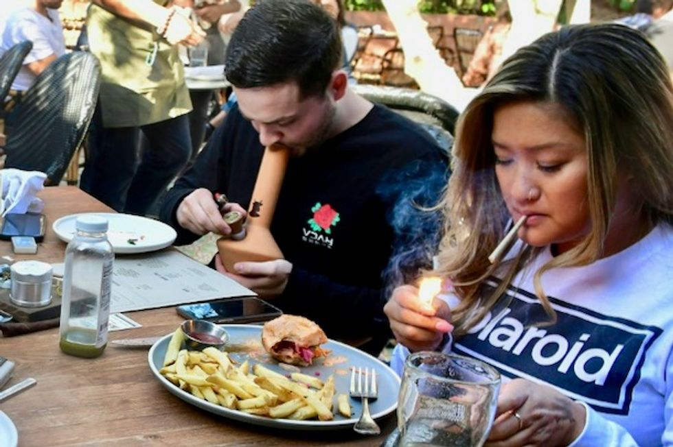 America's first cannabis cafe opens in Hollywood
