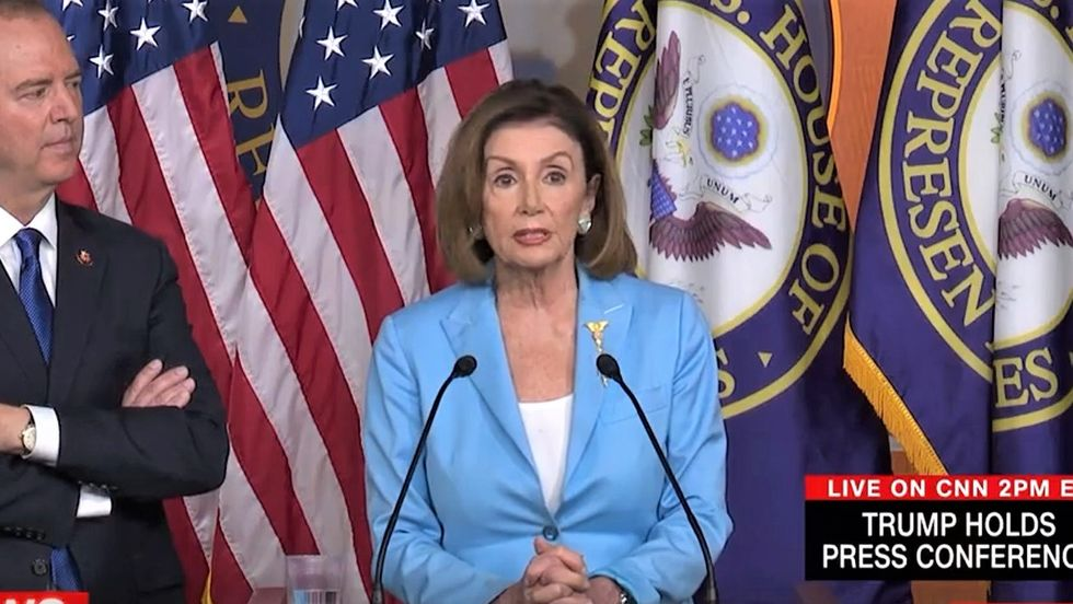 Pelosi reveals how she schooled Trump on ethics of his 'perfect' Ukraine call: 'It's not perfect -- it's wrong!'