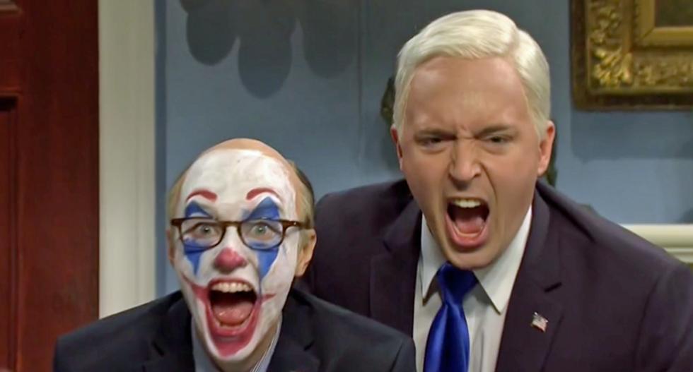'We need to close ranks -- like the mafia!': SNL roasts Giuliani and Pompeo's panic over Ukraine scandal