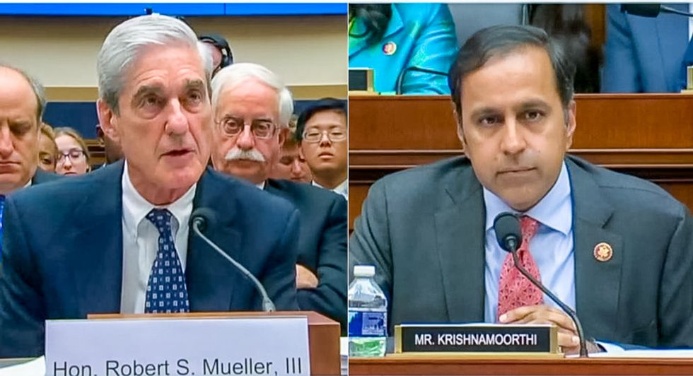 Mueller reveals FBI is 'currently' investigating Trump associates vulnerable to Russian blackmail