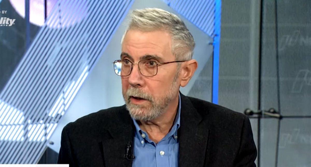'Dismal failure': Paul Krugman buries GOP attempts at rewriting legacy of its massive tax cuts