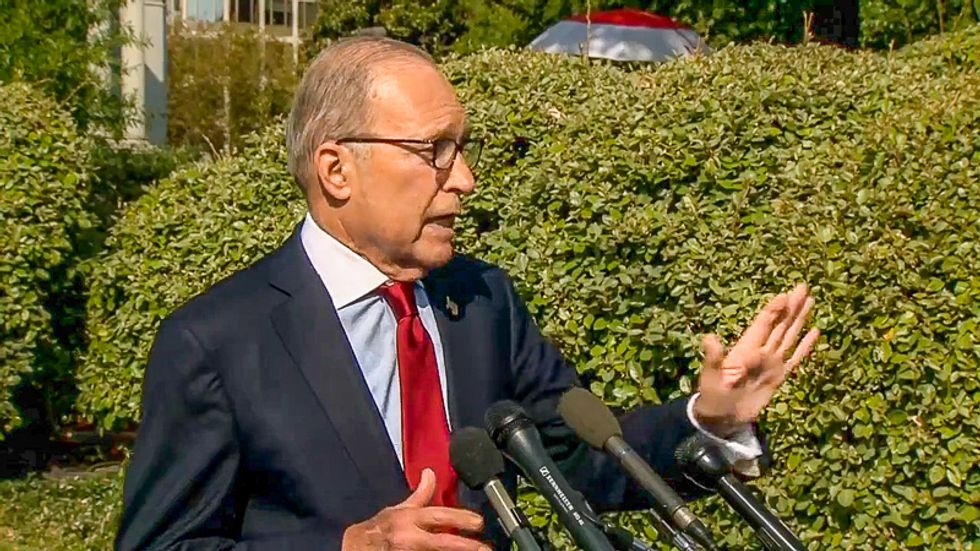 Economic adviser Larry Kudlow: 'I honestly don't know' if Trump was serious about China probing Biden