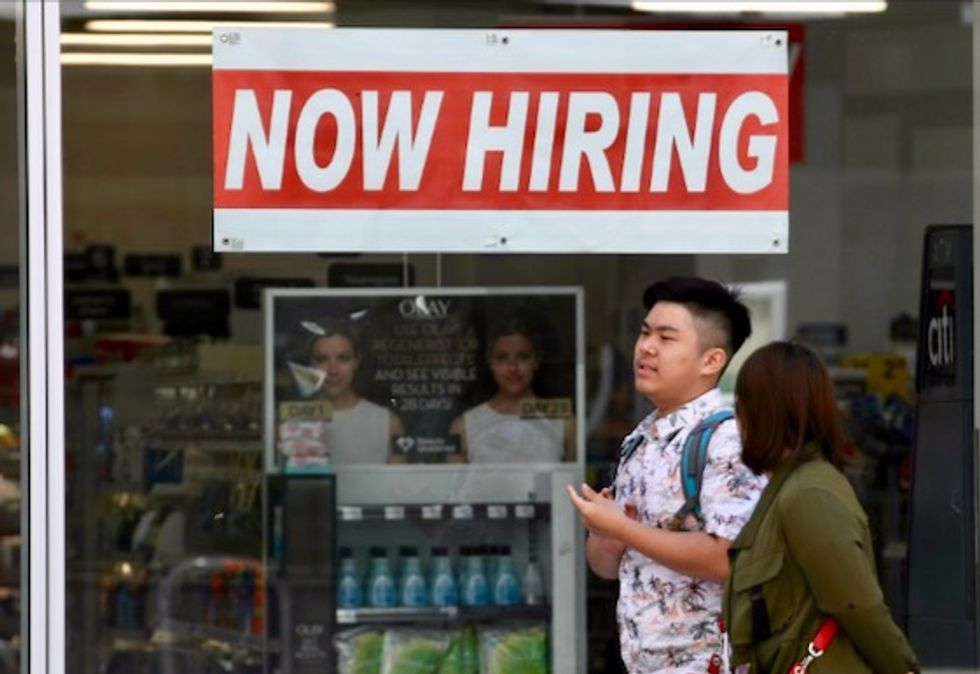 US unemployment falls to 50-year low of 3.5% in September