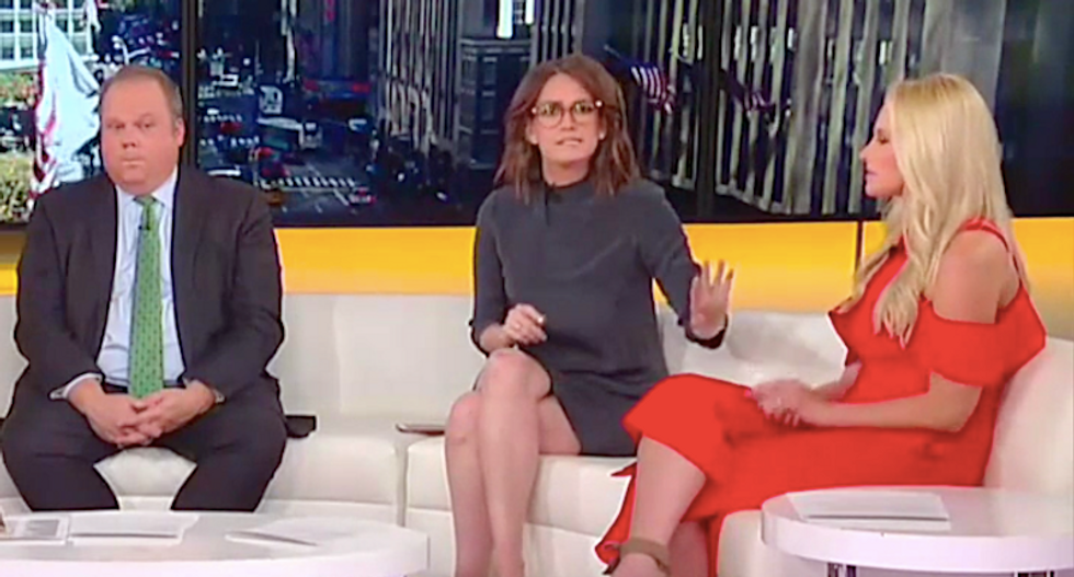 Fox panelists mock Trump for his Friday Biden rant – then angrily clash over 'swampy nepotism'