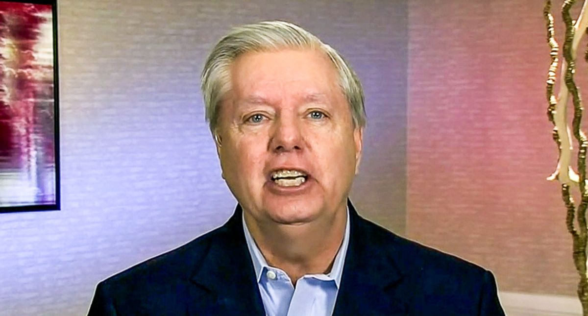Lindsey Graham uses inauguration to rip Hunter Biden: 'Nobody hesitated to send a wrecking ball to the Trump family'