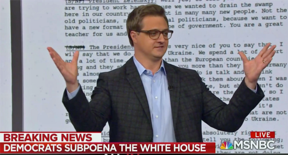 'They're busted': Chris Hayes breaks down the 'damning new evidence' against Trump