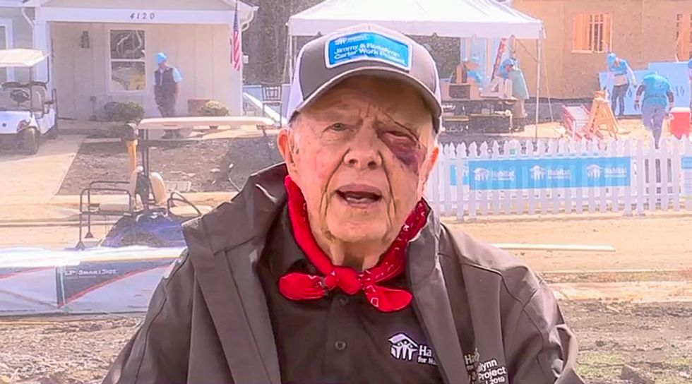 Jimmy Carter suffers pelvis fracture in another fall at home