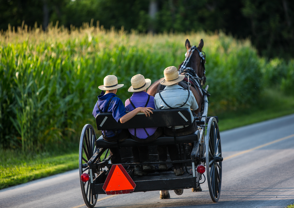 Republicans are on mission to turn the Amish into Trump voters -- there's just one big problem
