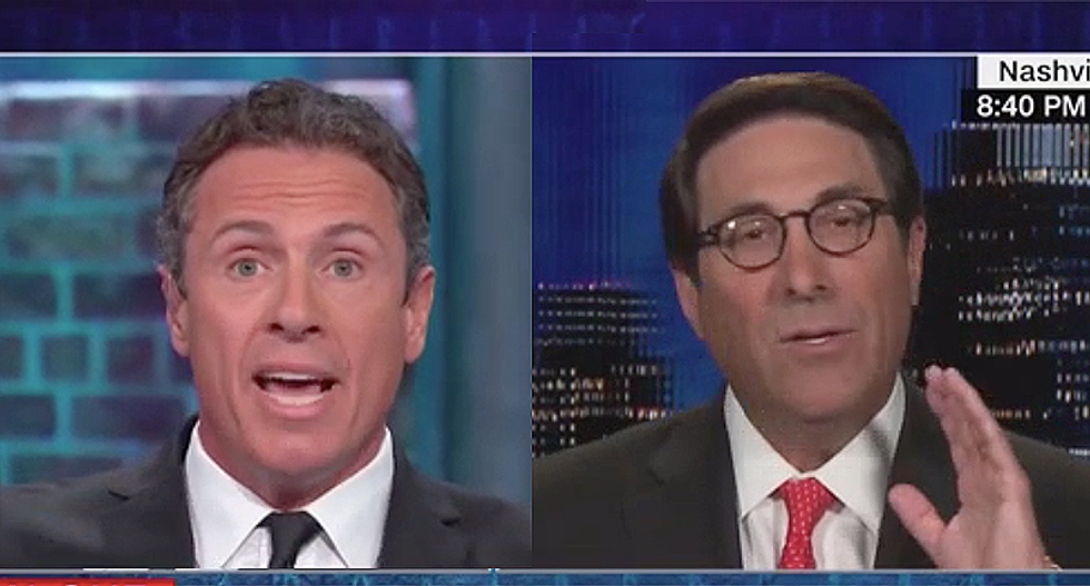 Eye-popping shouting match erupts after CNN's Cuomo corners Trump lawyer Jay Sekulow