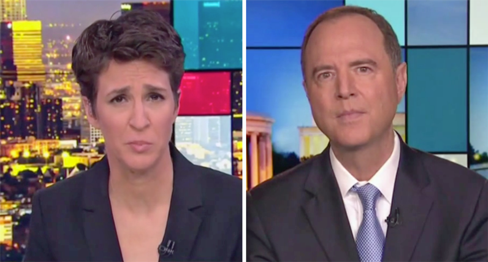 Intel chairman tells Maddow to expect more resignations after Mike Pompeo lost top diplomat