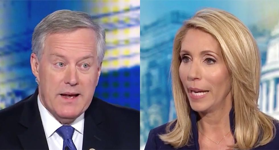 'Not true': Manic GOPer Mark Meadows shut down by CNN's Bash for repeating lie about Ukraine