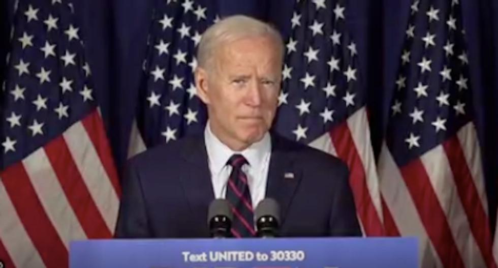 Joe Biden calls for Trump's impeachment: 'He's shooting holes in the Constitution'