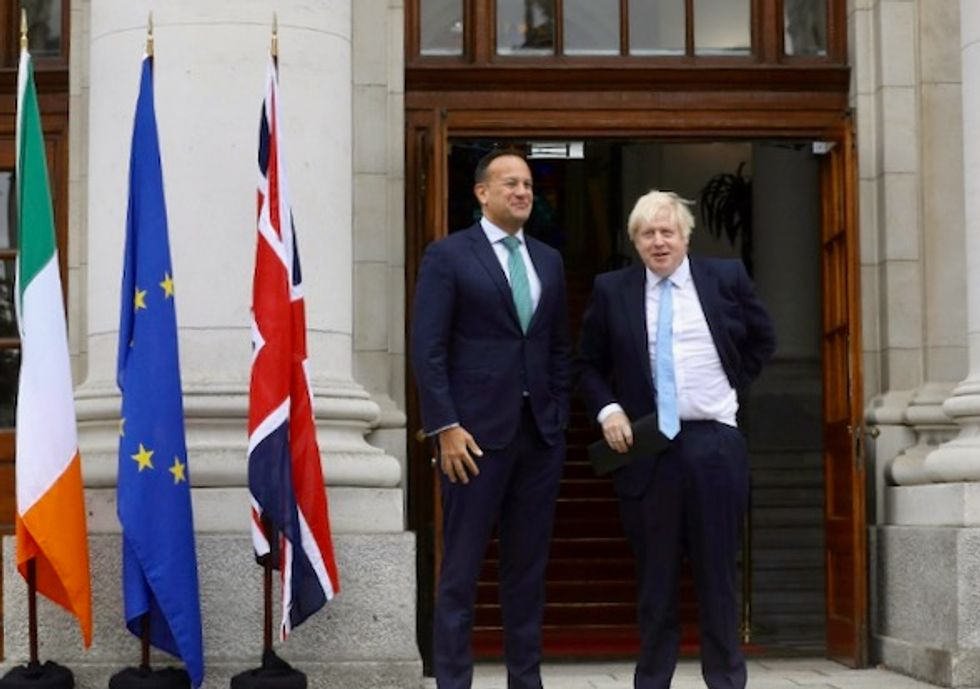 British, Irish PMs to lock horns over Brexit stalemate