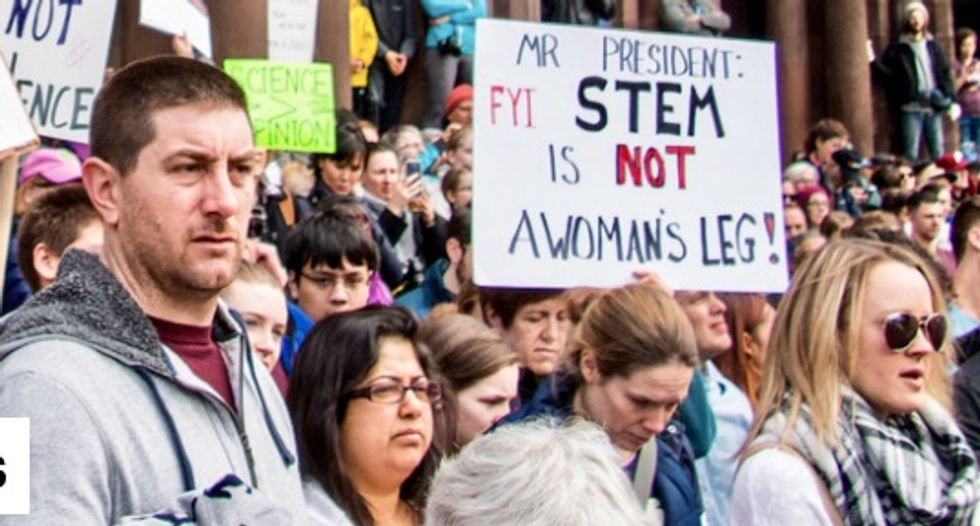 Can March for Science participants advocate without losing the public's trust?