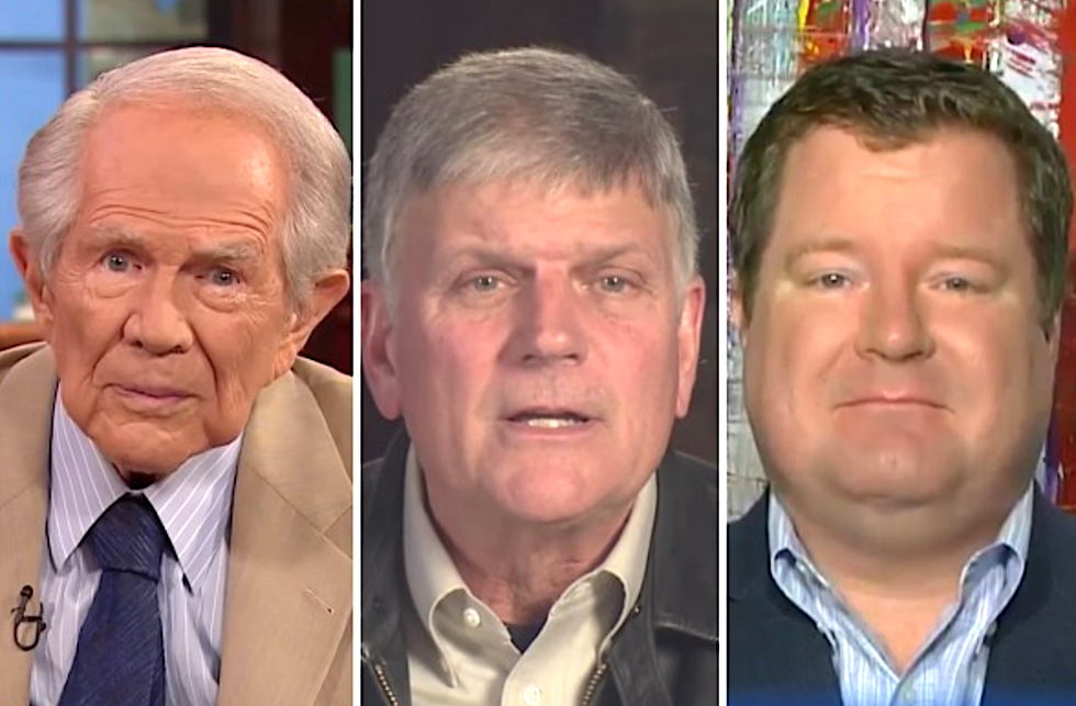 Some of Trump's most vocal evangelical supporters are breaking with him over his Syria pullout
