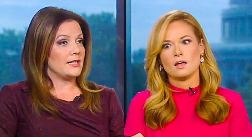 WATCH: Fox News contributor gives epic eye roll over disinformation about impeachment polling