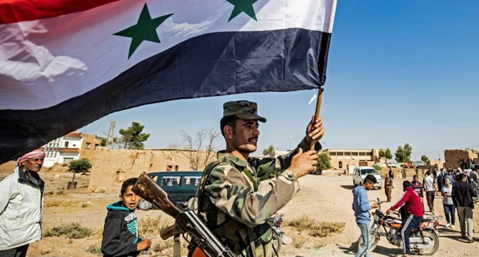 Syria regime steps in after Trump's sanction threats fail to halt Turkish assault on Kurds