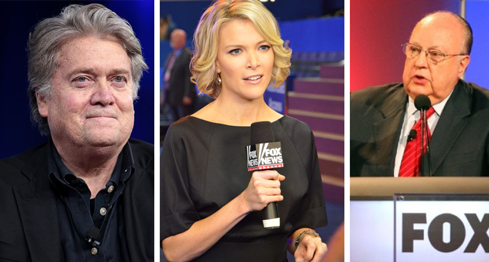 'She's the devil': Steve Bannon warned Roger Ailes that Megyn Kelly would 'turn on' him