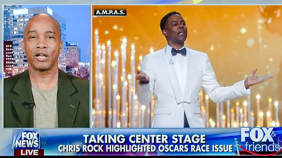 Fox News 'Race Pimping' expert: Chris Rock's Oscar monologue was 'tragic' for America