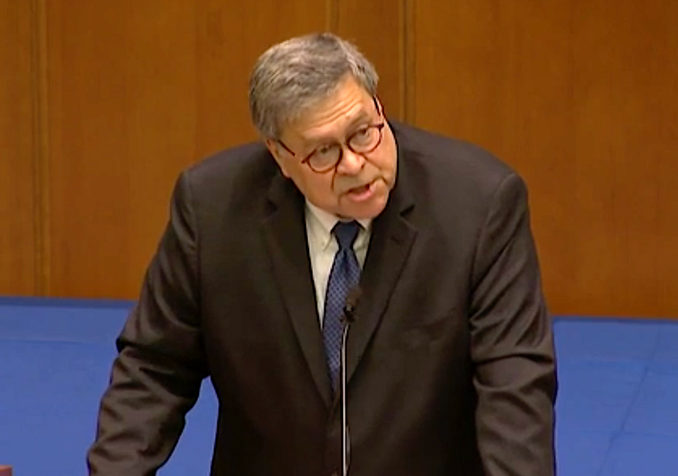 Bill Barr slammed for his 'incredibly disturbing' -- and false -- attack on secularism