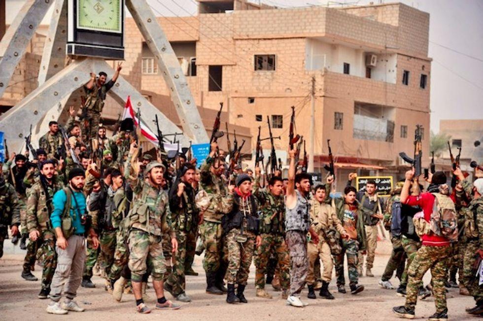 Islamic State jihadists retake parts of Syria town in major attack: monitor