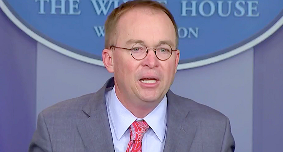 Mulvaney lawyer denies Mick was 'so heavily involved' — despite his White House briefing room confession