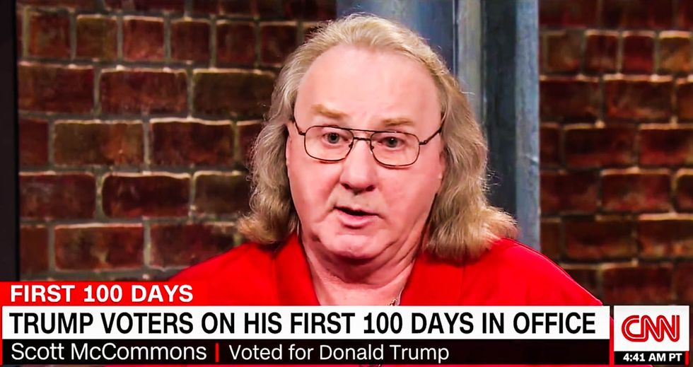 'It's been a disaster': Voter tells CNN he regrets his choice for 'unpresidential' Trump