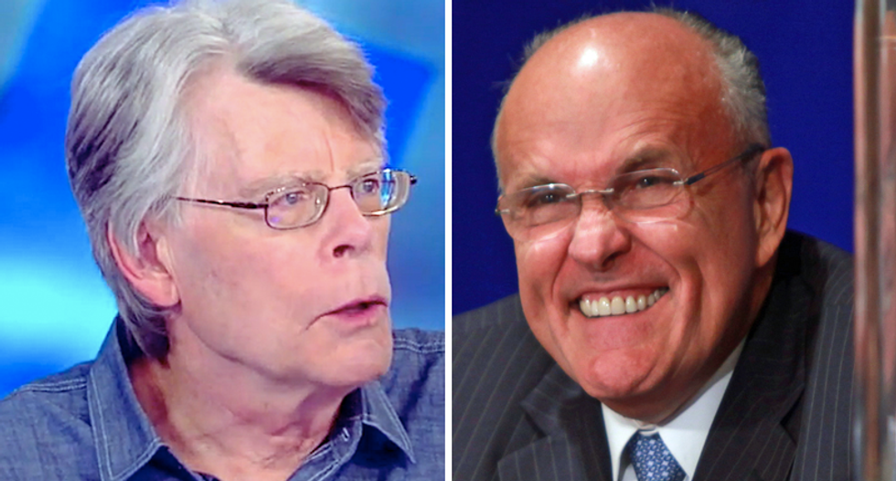 Rudy Giuliani could 'crawl under a rattlesnake': Author Stephen King rips Trump lawyer's stature