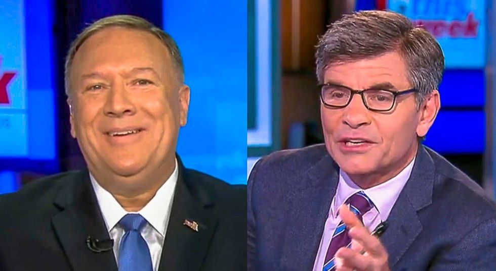 Mike Pompeo gets roasted alive for inventing 'internal deliberations' rule to stay mum on Giuliani