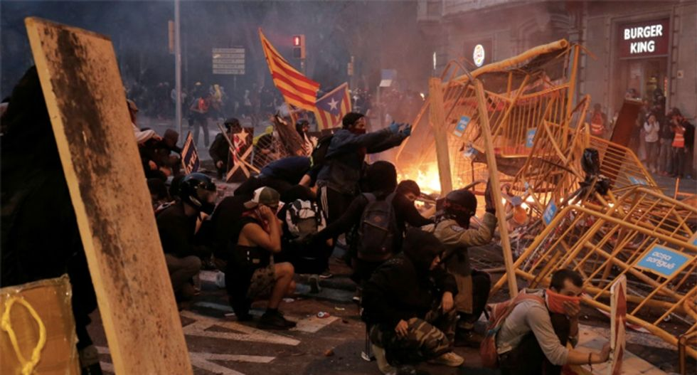 Who are the young people behind the Catalonia protest violence?