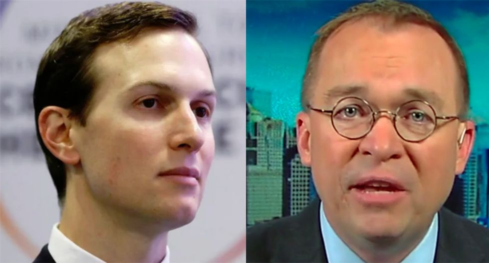 Kushner increasingly frustrated with Mulvaney after 'self-immolation' on Fox News: report