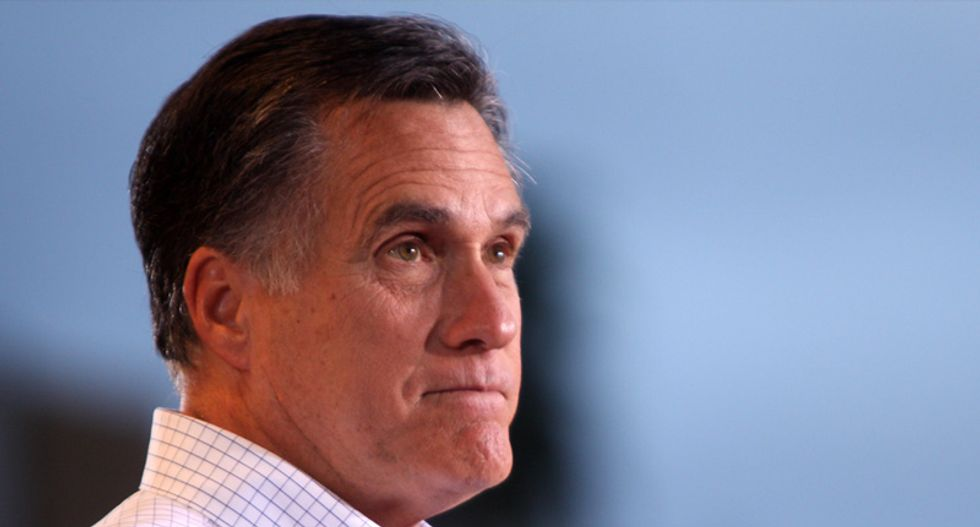 Mitt Romney shreds Trump for refusing to denounce 'absurd and dangerous' QAnon