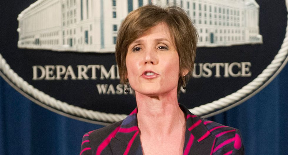 In a time of madness, Sally Yates is a profile in courage