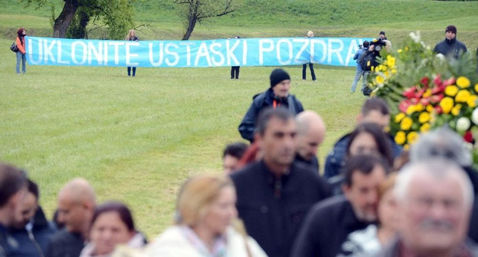 Anti-fascists and Jews boycott Croatia memorial at WWII death camp
