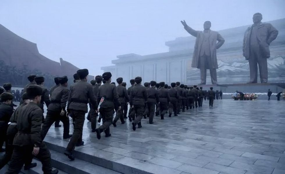 Kim Jong Un tribute absence sparks speculation