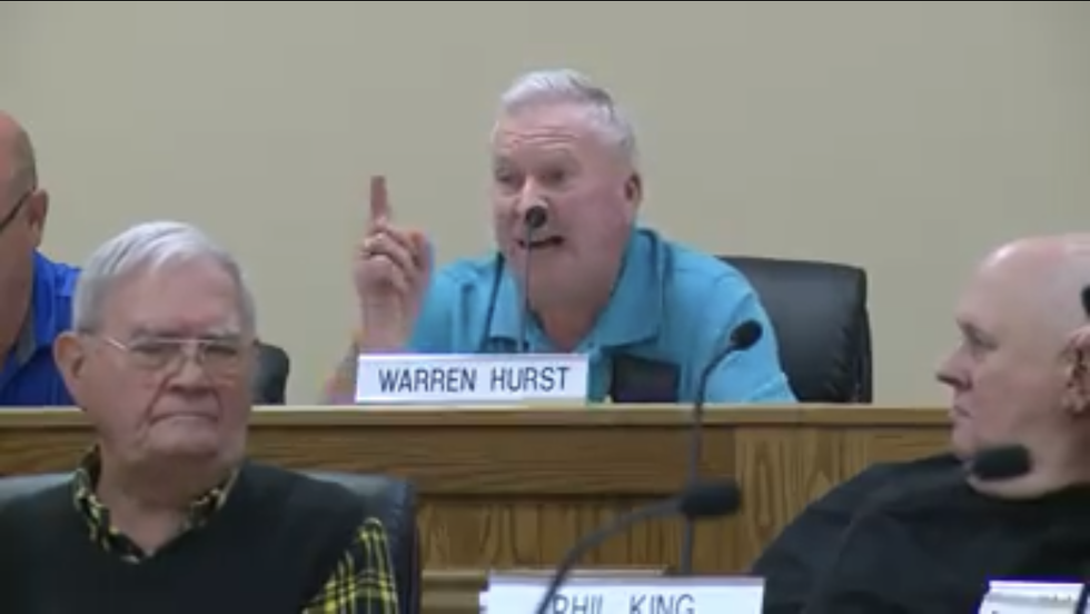 'We've got a queer running for president!' Tennessee official bursts into a racist, anti-gay rant at council meeting