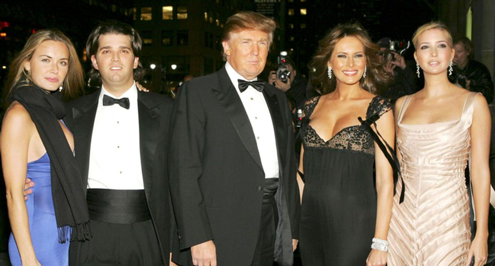 Meet the Trumps -- the wacky cast that just might become America's next first family