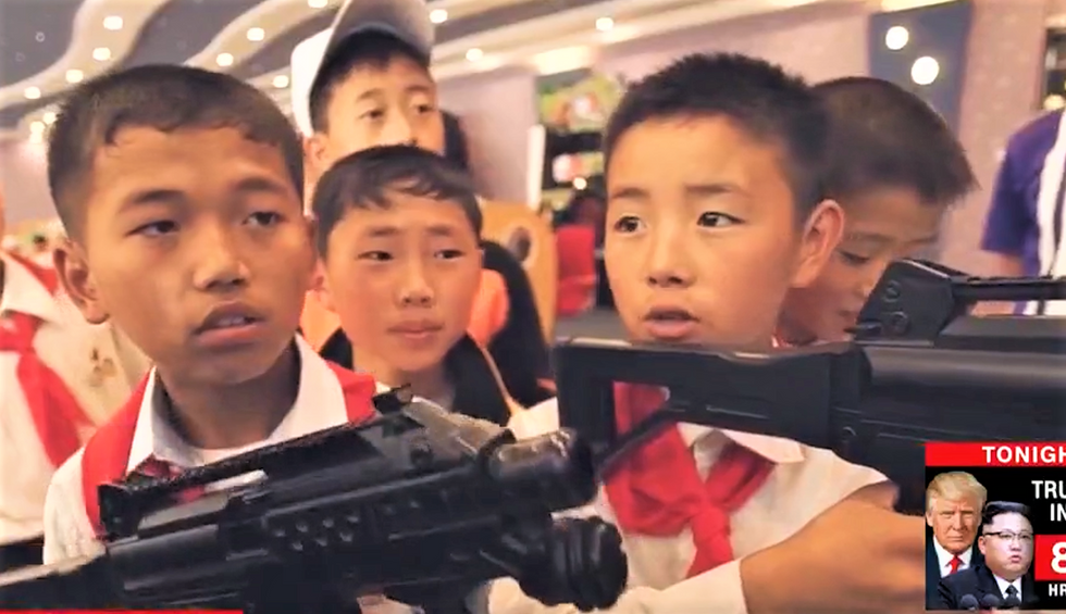 WATCH: North Korean children tell CNN reporter they want to shoot him for being American